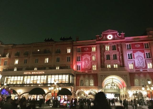 ホテルミラコスタの夜の顔も素敵