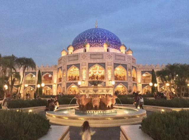 スペインのアルハンブラ宮殿みたい