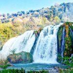 ヨーロッパ最大級のマルモレの滝 in ウンブリア・落差165mの見所紹介!大迫力を体感しに行こう