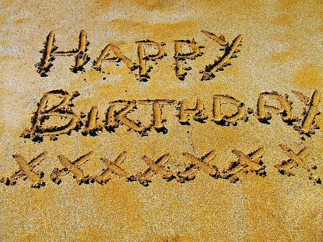 英会話:誕生日に使える英語表現
