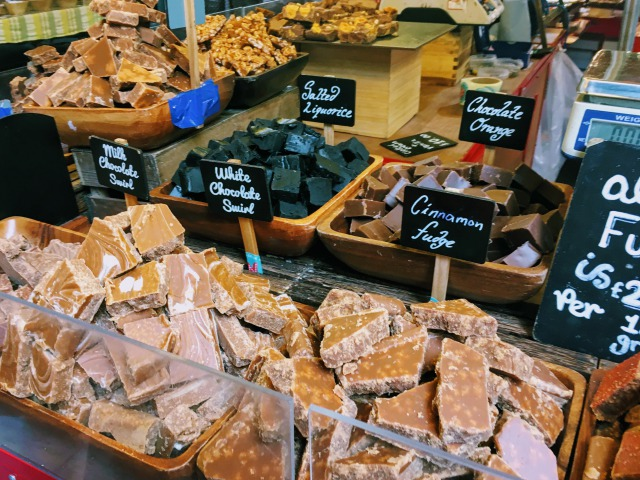 ロンドン バラ・マーケットのチョコレート