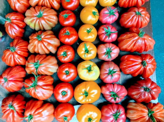 ロンドン バラ・マーケットのトマト