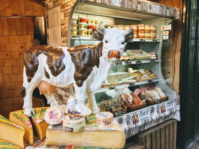 ロンドン バラ・マーケットのチーズ