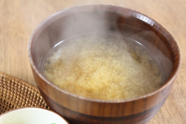 日本のだしについて英語で説明/お味噌汁