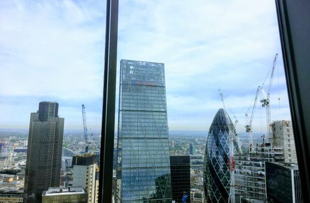 ロンドン・スカイガーデンからの眺望