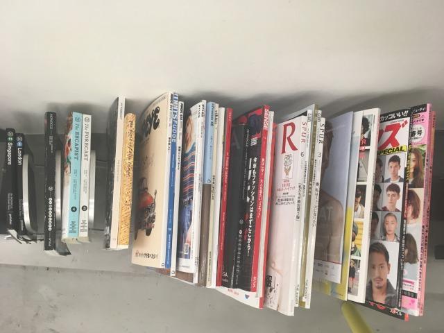 ロンドンの美容室にあった日本の雑誌