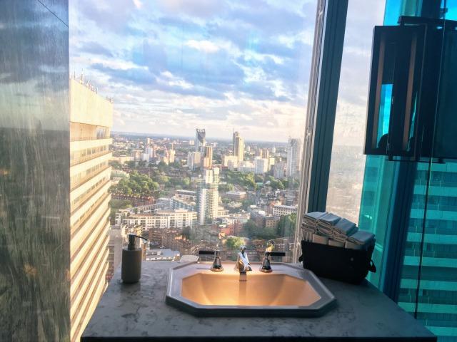 ザ・シャード31階にあるお手洗い