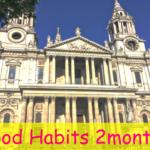 【生活習慣改善チャレンジ2カ月目】振り返り&3カ月目の目標 in ロンドン
