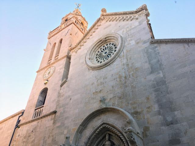 コルチュラ島旧市街・聖マルコ大聖堂