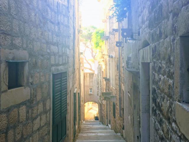 コルチュラ島旧市街