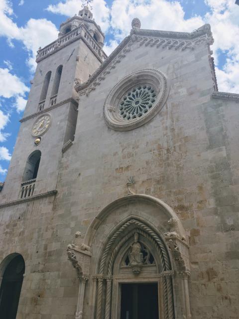 コルチュラ島聖マルコ大聖堂外観