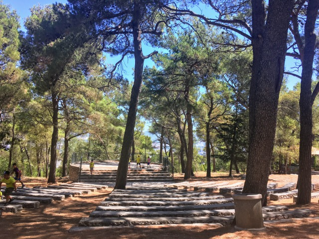 マルヤンの丘にある公園