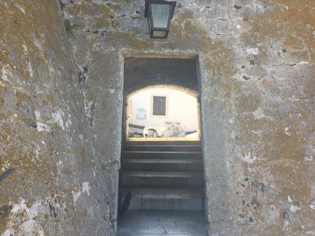 フヴァル要塞の入り口