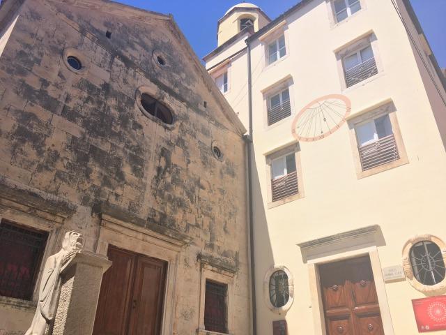 フヴァルタウン聖ベネディクト修道院の外観