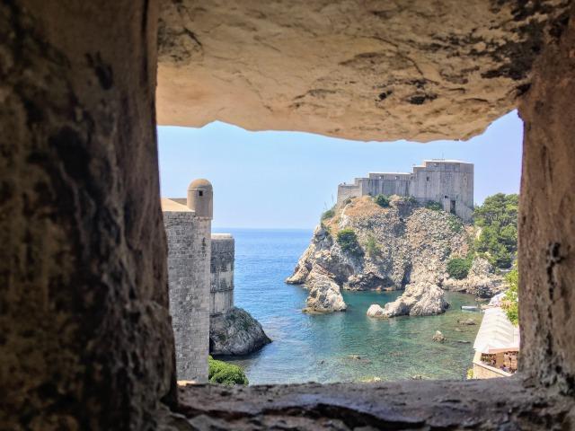 城塞から見える旧市街の景色