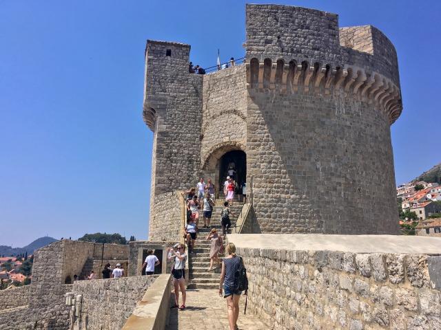 ドブロブニク観光・ミンチェッタ要塞