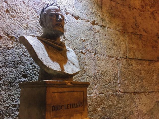 元ローマ皇帝のディオクレティアヌス帝(スプリット)
