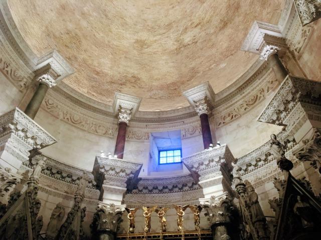 聖ドムニウス大聖堂の天井