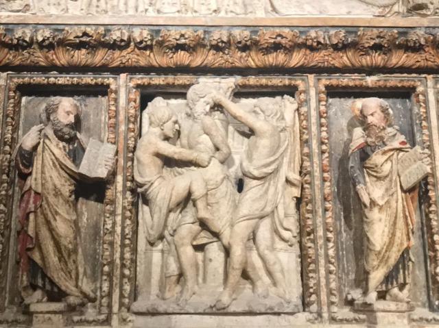 聖ストシャ祭壇の見どころ