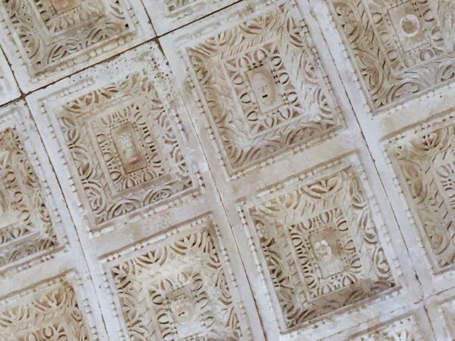 洗礼室(ジュピター神殿)の天井