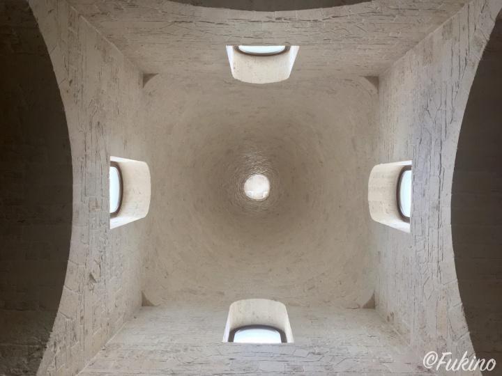 サンタ・アントニオ教会のクーポラ