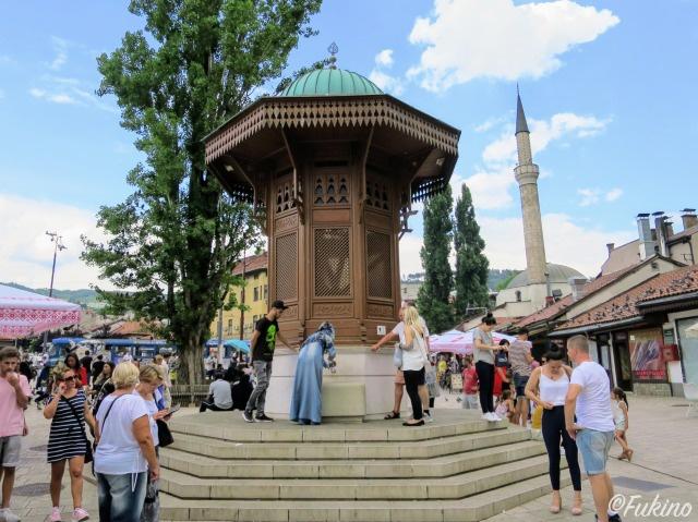 サラエボ旧市街(バシュチャルシヤ:Baščaršija)セビリ(Sebilj)