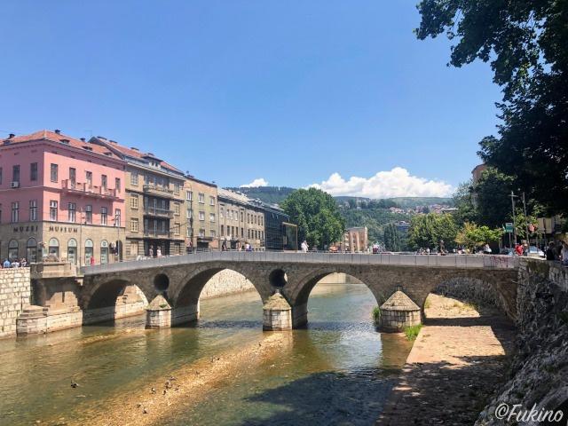 第一次世界大戦の引き金となった事件が発生した「ラテン橋」