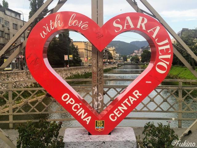 サラエボに住む人の心の温かさは格別