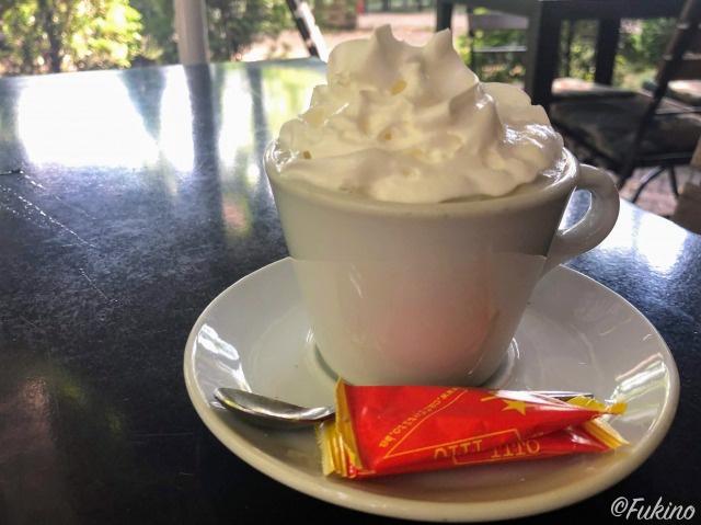 kafe sa slagom:ホイップコーヒー 2.5KM(約160円)