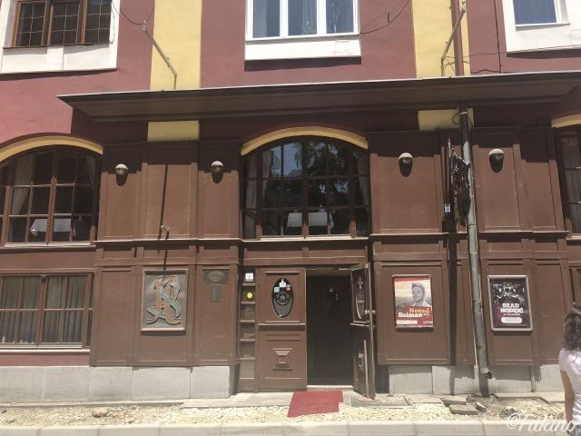 ピブニチャ・HS(PIVNICA HS)の入り口
