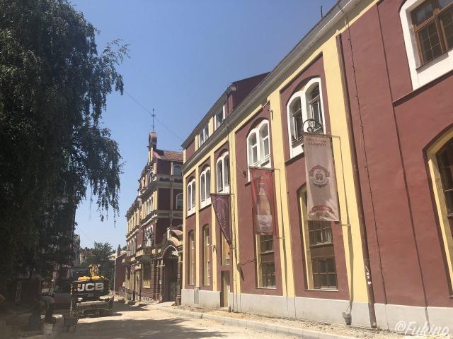 ミュージアムと隣接している「Pivnica HS Sarajevo」