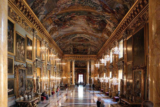 ローマの休日ロケ地巡り:コロンナ宮殿