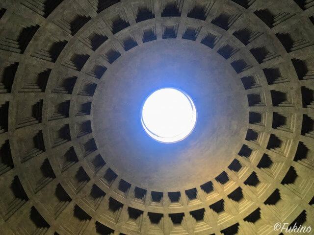 ローマの休日ロケ地巡り:パンテオン