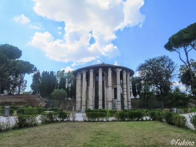 ローマの休日ロケ地巡り:ヘラクレス神殿