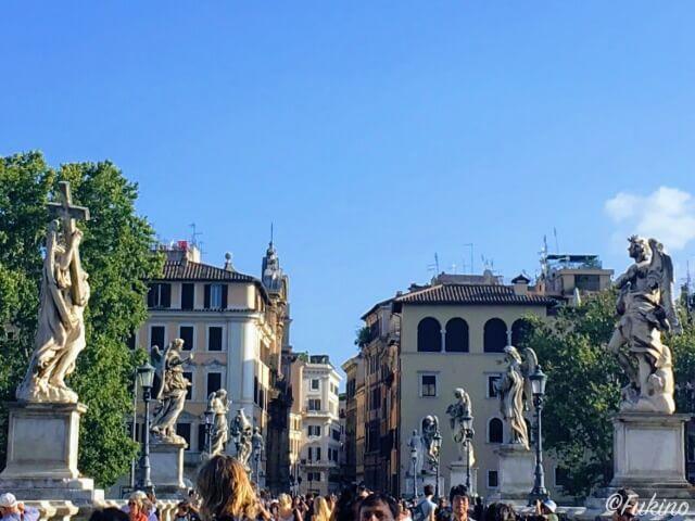 ローマの休日ロケ地巡り:サンタンジェロ城