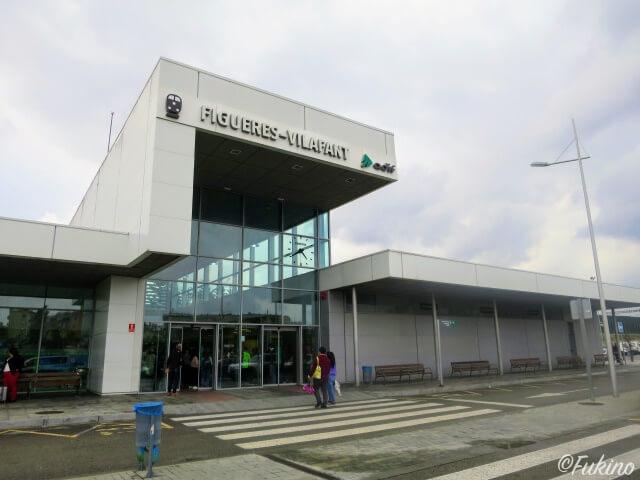 Figueres Vilafant駅の外観
