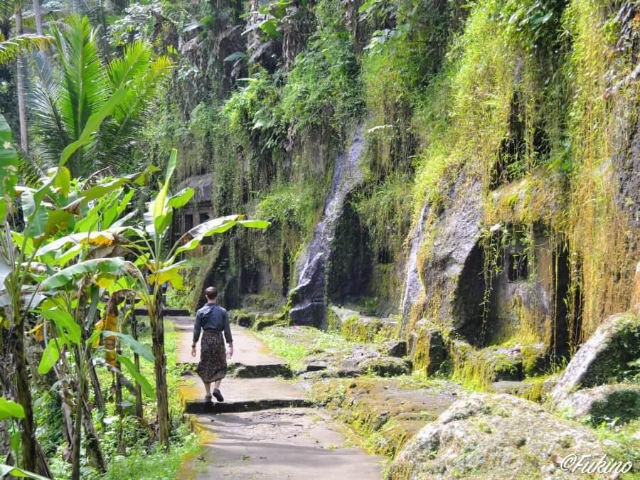 ウブド Pura Gunung Kawi