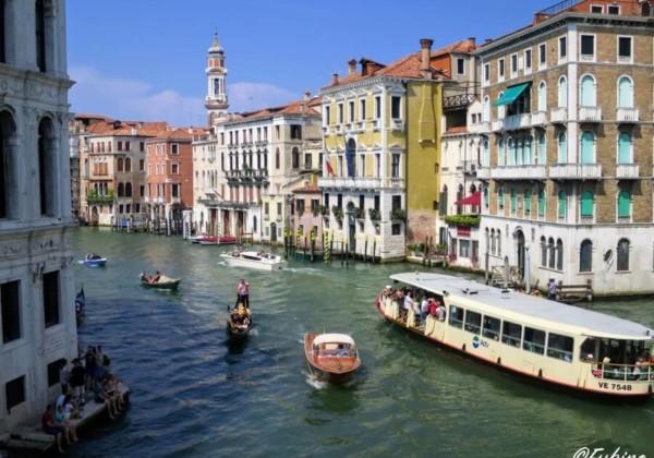 ベネチア カナルグランデ大運河