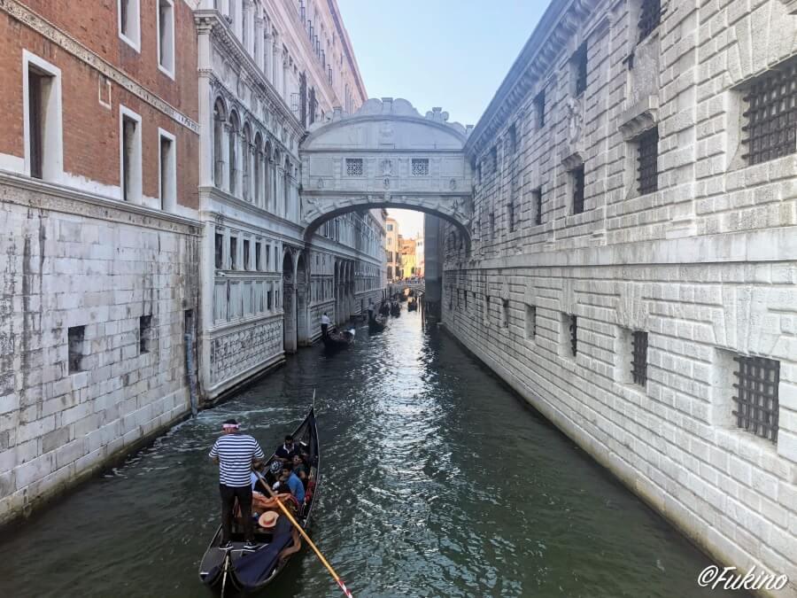 ベネチア・ため息の橋